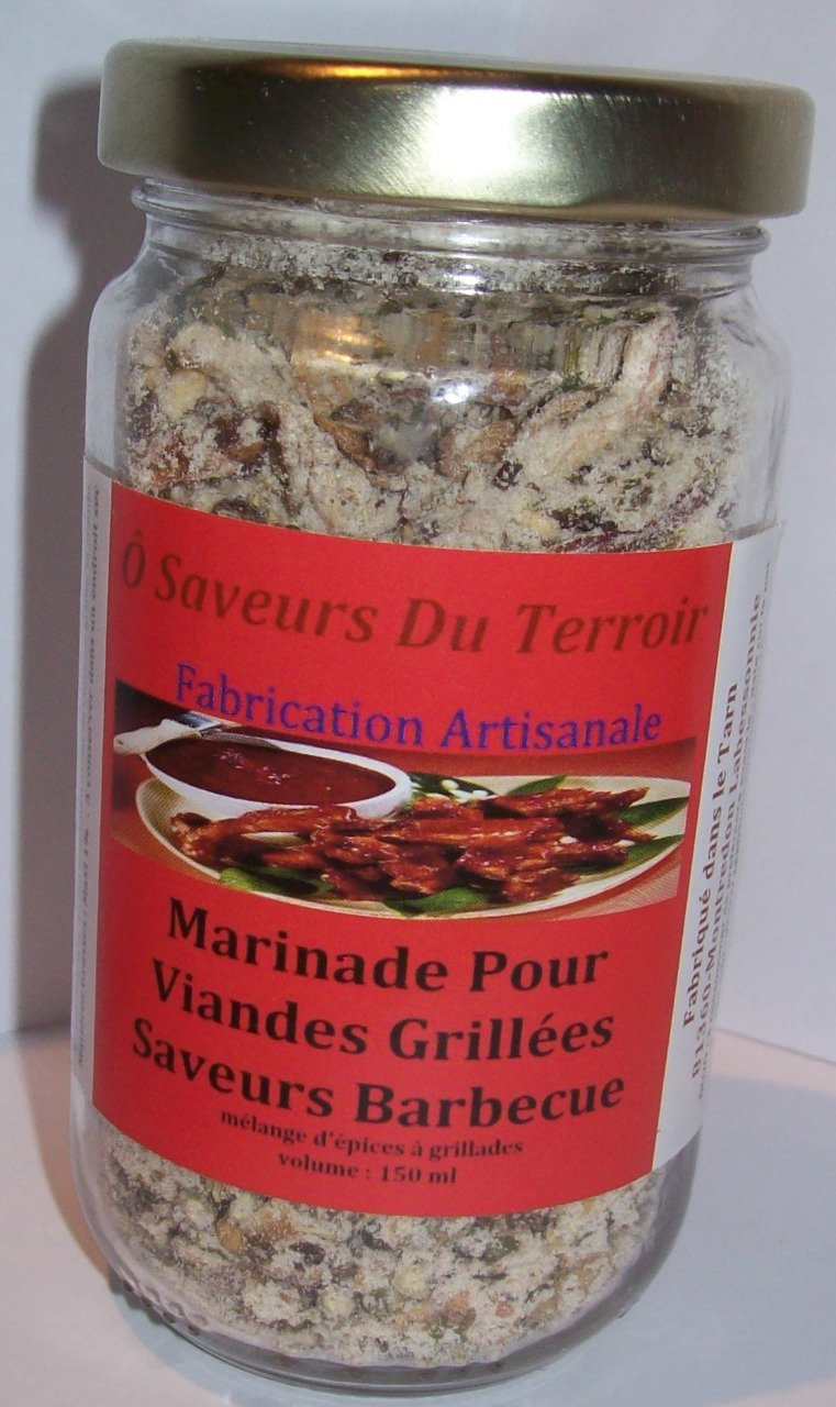 Carton de 6 Marinades Barbecue 200 ML/100gr