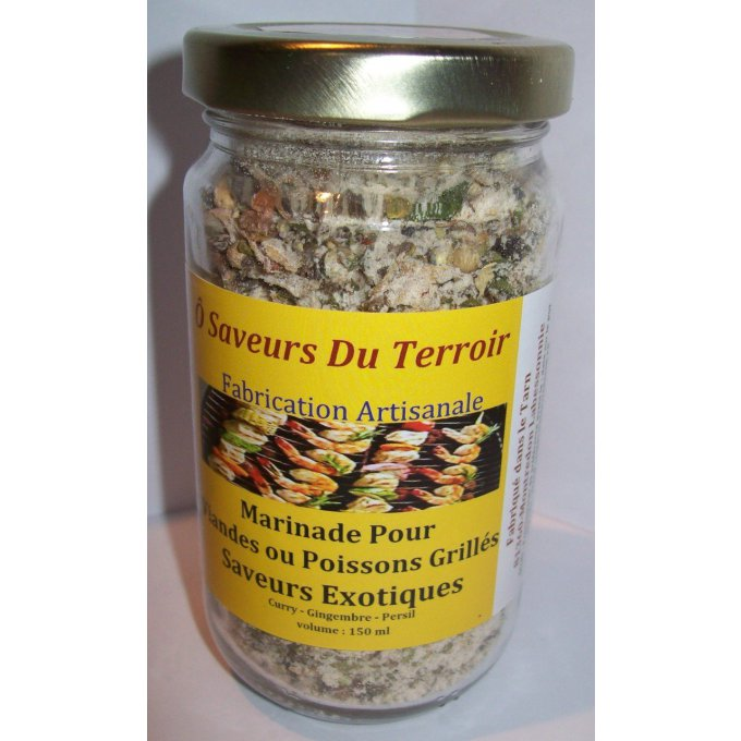 Marinade Exotique / Curry  200 ML/100gr