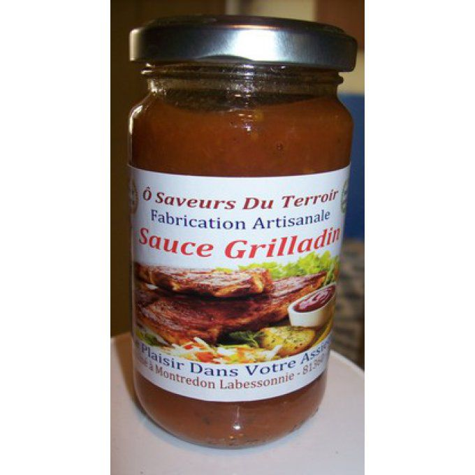 Carton de 6 Sauces Grilladin - Barbecue