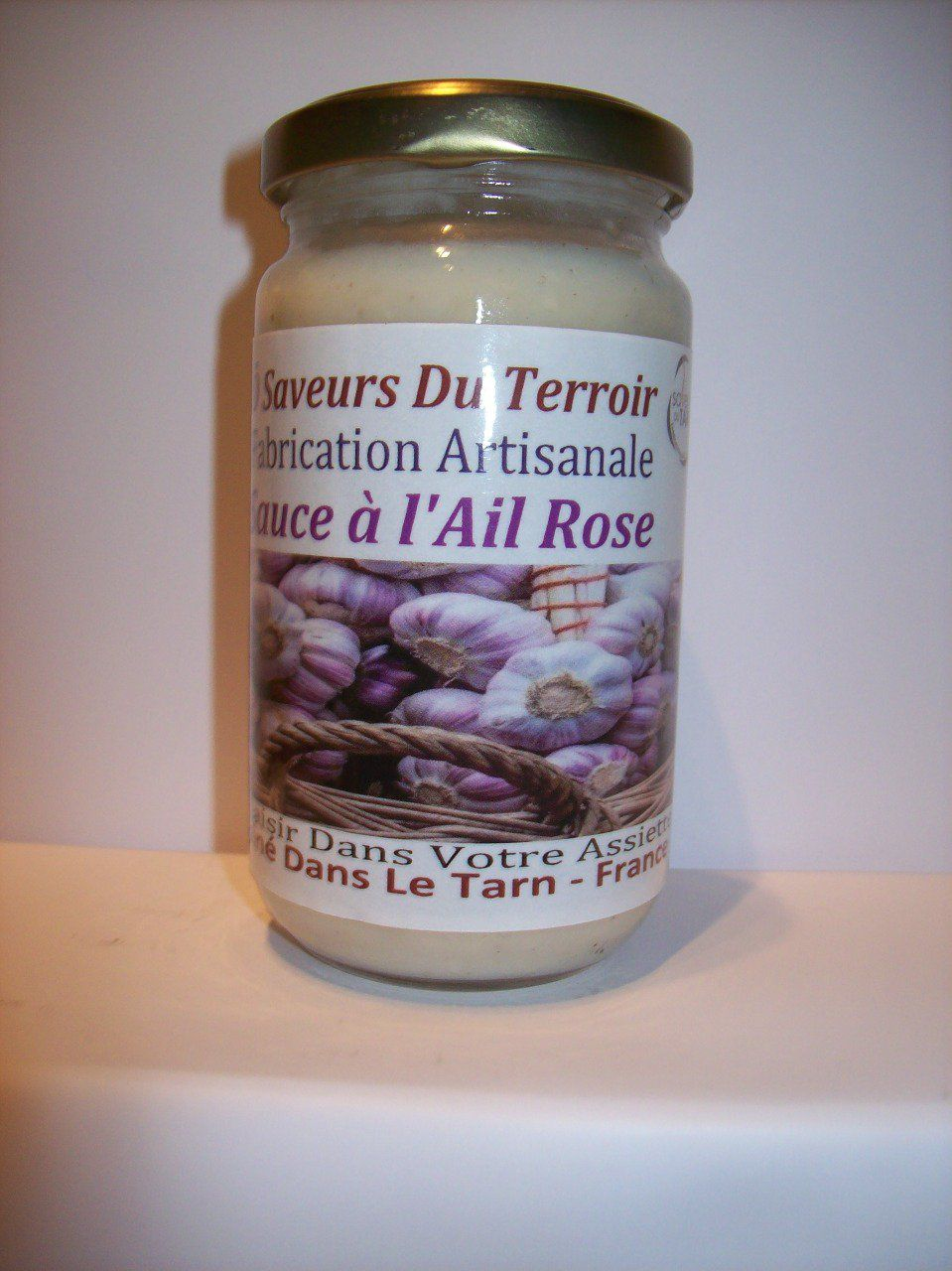 24 Sauces ail  Rose de Lautrec  - 200 ml Label SUD DE FRANCE