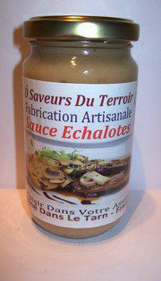 24  Sauces aux échalotes  200ml - label SUD DE FRANCE