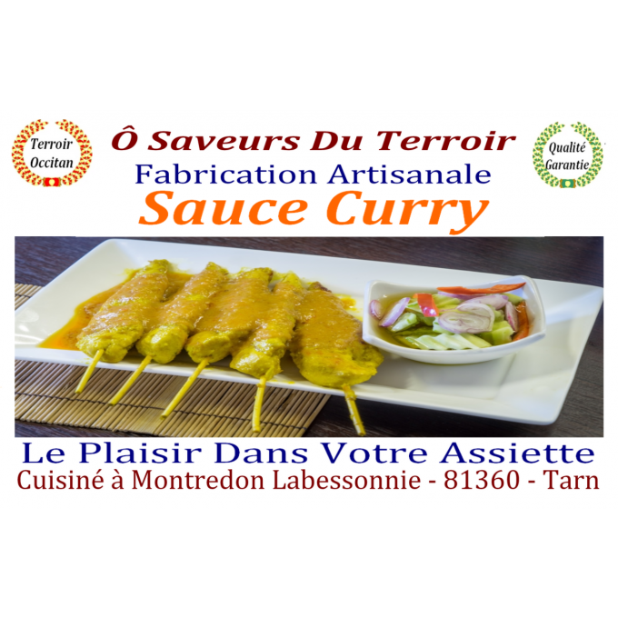 24 Sauces au Curry  - 200 ml