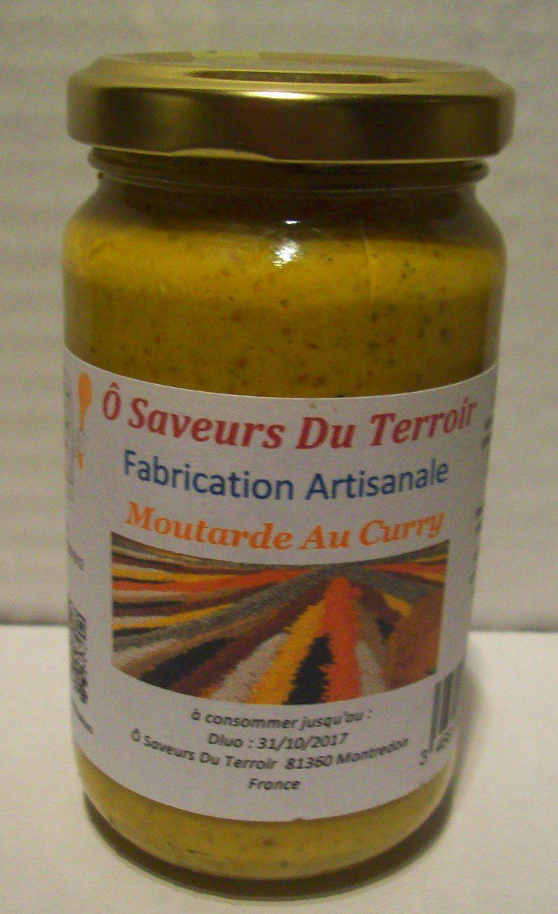 24 Moutardes au Curry  - 200 ml