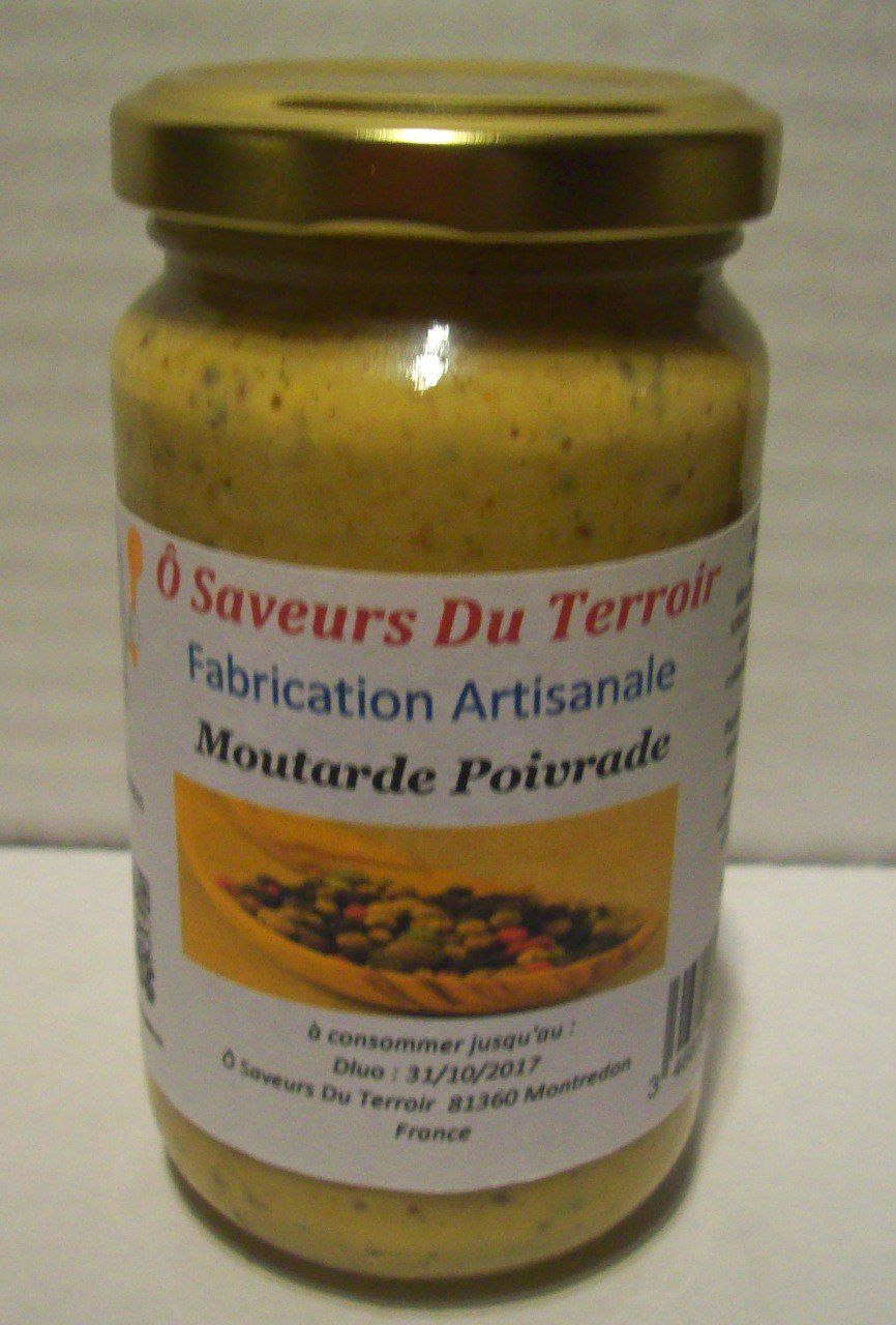 24 Moutardes Poivrade  - 200 ml