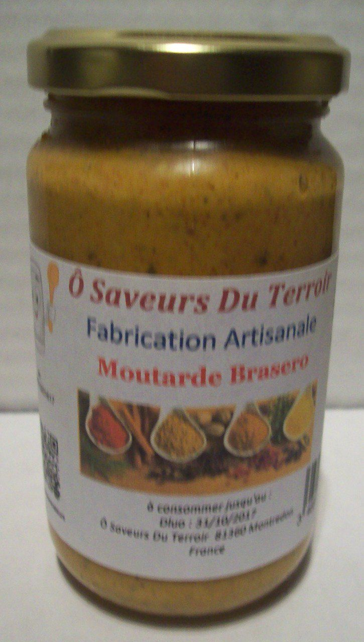 24 Moutardes Brasero  200 ml