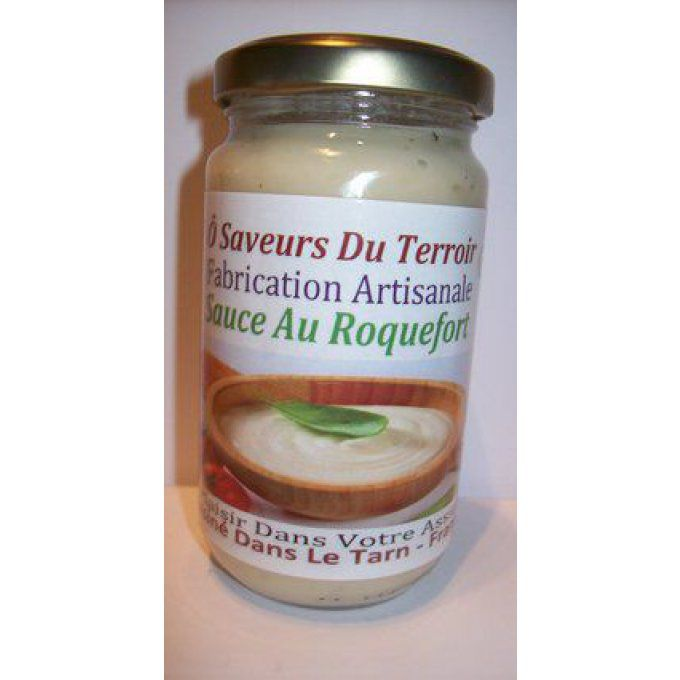 24 Sauces au Roquefort    - 200 ml - Label : SUD DE FRANCE