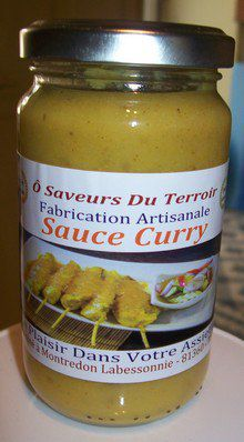Carton de 6 Sauces au Curry  - Copie
